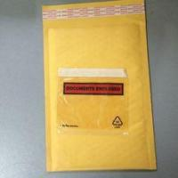 Buy cheap Golden / Yellow Padded Envelopes With Documents Enclosed / Attached Pouch from wholesalers
