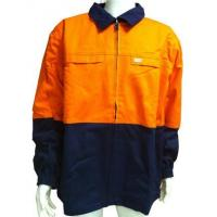 China Cotton Drill SAFETY JACKET wholesale