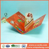 China Handmade Card Make Your Own Pop Up Open Birthday Card on sale