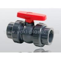 China Manual butterfly valve PVC compact true union ball valve (new handle) wholesale