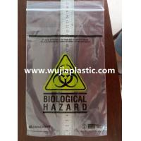 China Biohazard Specimen Bag on sale