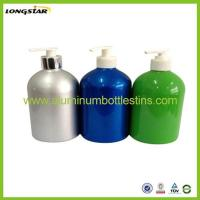 China 350ml aluminum pump bottle on sale