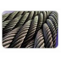 China Steel Wire Rope Round Stranded Wire Rope wholesale