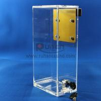 Buy cheap Acrylic Drop box with J Hook from wholesalers