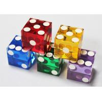 Buy cheap Colorful Acrylic Precision Dice from wholesalers