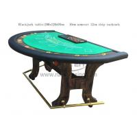 Buy cheap Blackjack Table With H style Leg from wholesalers