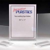 China Acrylic Sign Holders With Clamps Model NumberP-Sign Holders-32 wholesale