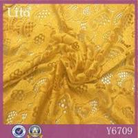 China 2016 the latest fashion fabric with spandex China supplier bargain lace wholesale