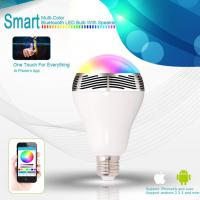 China TOTMC Bluetooth Color Changing LED Light Bulb With Speaker wholesale