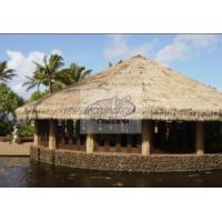 China Colored Synthetic Thatching Roof Fake Palm Hut Grass Thatch wholesale