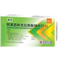 China Amoxicillin and Clavulanate Potassium Tablets (7:1) wholesale