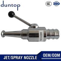 China Hose Nozzle Brass Water Jet Spray Nozzle on sale