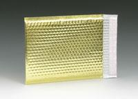 """China 6-1/2"""" x 10-1/2"""" Reflectix Metallic Bubble-Lined Mailer with 2"""" Lip - Gold wholesale"""