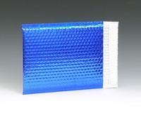"""Quality 8"""" x 11"""" Reflectix Metallic Bubble-Lined Mailer with 2"""" Lip - Navy Blue for sale"""