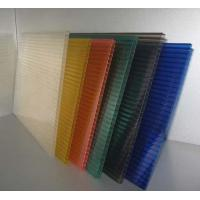 China Polycarbonate Hollow Sheet 8mm UV-Protected Twin-Wall Polycarbonate Sheet wholesale