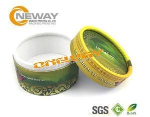 Quality Printed Round Gift Packaging Box / Cardboard Gift Boxes With Lids for sale