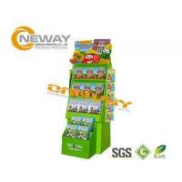 China Custom Advertising Pop Cardboard Display Stands With LCD Screen wholesale