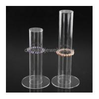 China Factory direct sale acrylic cylinder display product display stands bracelet rack BDJ-007 wholesale