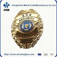 Buy cheap Custom-Made SOS Badge, Collar Insignia with Regular Soft Enamel from wholesalers
