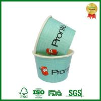 Buy cheap Custom Printed Paper Yogurt Container with Lid and Spoon from wholesalers