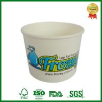 Buy cheap OEM Food Grade Frozen Yogurt Cup with Dome Lid Disposable from wholesalers