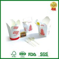 Buy cheap Custom Print Takeaway Round Chinese Noodle Paper Box Container from wholesalers