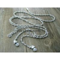 Buy cheap Chain earphone with mic from wholesalers