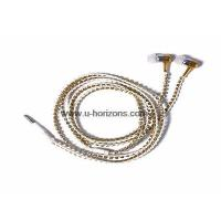 Buy cheap crystal chain wrapped earphone with mic from wholesalers