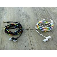 Buy cheap Stylish thread braided and beads earphone bracelet design from wholesalers