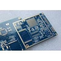 Buy cheap Blue 10 Layer High TG PCB 1OZ FR 4/4mil Prepreg High Layer Count PCB from wholesalers