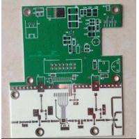 Buy cheap Ceramic Based PCB with Green and White Soldermask and Immersion Sliver from wholesalers