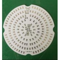 Buy cheap Single AL PCBs with 2.0mm Thickness 1.5w/mk and OSP for Led from wholesalers