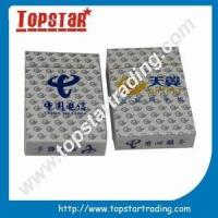 China high quality custom playing cards wholesale