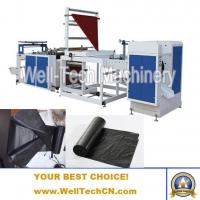 Buy cheap WTRB-C800, 1000 Plastic Roll Jumbo Trash /Garbage Bag Making Machine from wholesalers