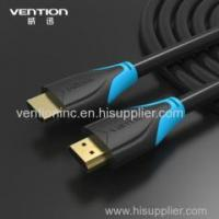 China Hot selling 24K gold plated HDMI to HDMI 1.4 cable 1080p 3D 10m M to M hdmi cable copper material on sale