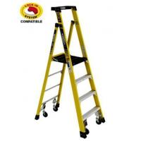 China 2 Ladder Set - Podium Ladder with Casters wholesale