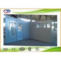Buy cheap QSH cheap prefab house with galvanized steel frame from wholesalers