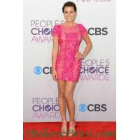 China Gorgeous Amy Adams Strapless Black Cocktail Party Dress Knee Length 2012 on sale