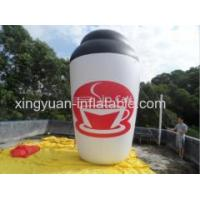 China Giant Inflatable Coffee Cup For Sale wholesale