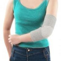 Buy cheap Bamboo Charcoal Fiber Knitting Elbow Sleeve from wholesalers
