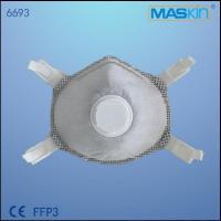 China CE EN149 FFP3 N99 3M Face Mask With Active Carbon And Valve wholesale