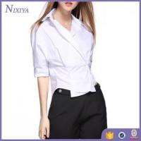 Buy cheap Half Sleeve shirts for women, Cotton womens tops, Korean Style Blouse from wholesalers
