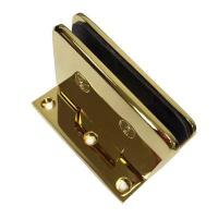 China BA-401-90S DORMA style Gold plated wall mounted glass door hinge on sale