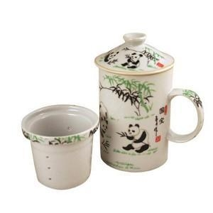 Quality Exquisite Porcelain Tea / Coffee Cup W. Filter LG Part NumberPOR105K for sale