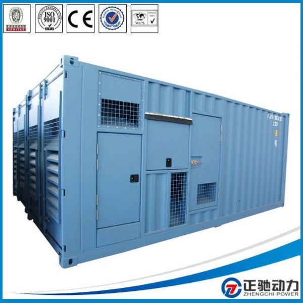 Quality Container Doosan engine diesel generator Price for sale