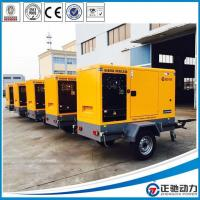 China Trailer Doosan engine diesel generator for Sale wholesale