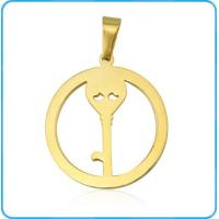 China PE01117 Mens Gold Plated Necklace Key Pendant wholesale