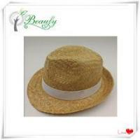 Cheap Promotion Kwai Grass Fedora Hat