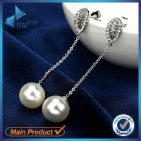 Buy cheap 925 silver Peal earring jewelry from china from wholesalers