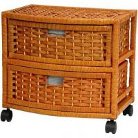 China Natural Fiber Chest of Drawers - Two Drawer wholesale